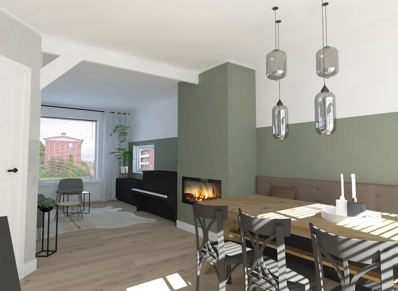 Interieurontwerp keuken en woonkamer in hengelo suzanne ros