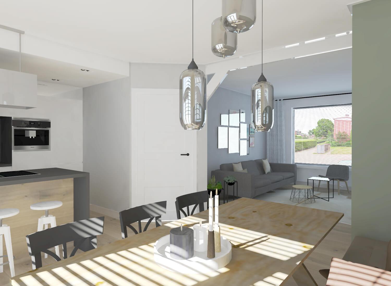 Interieurontwerp keuken en woonkamer in Hengelo - Suzanne Ros